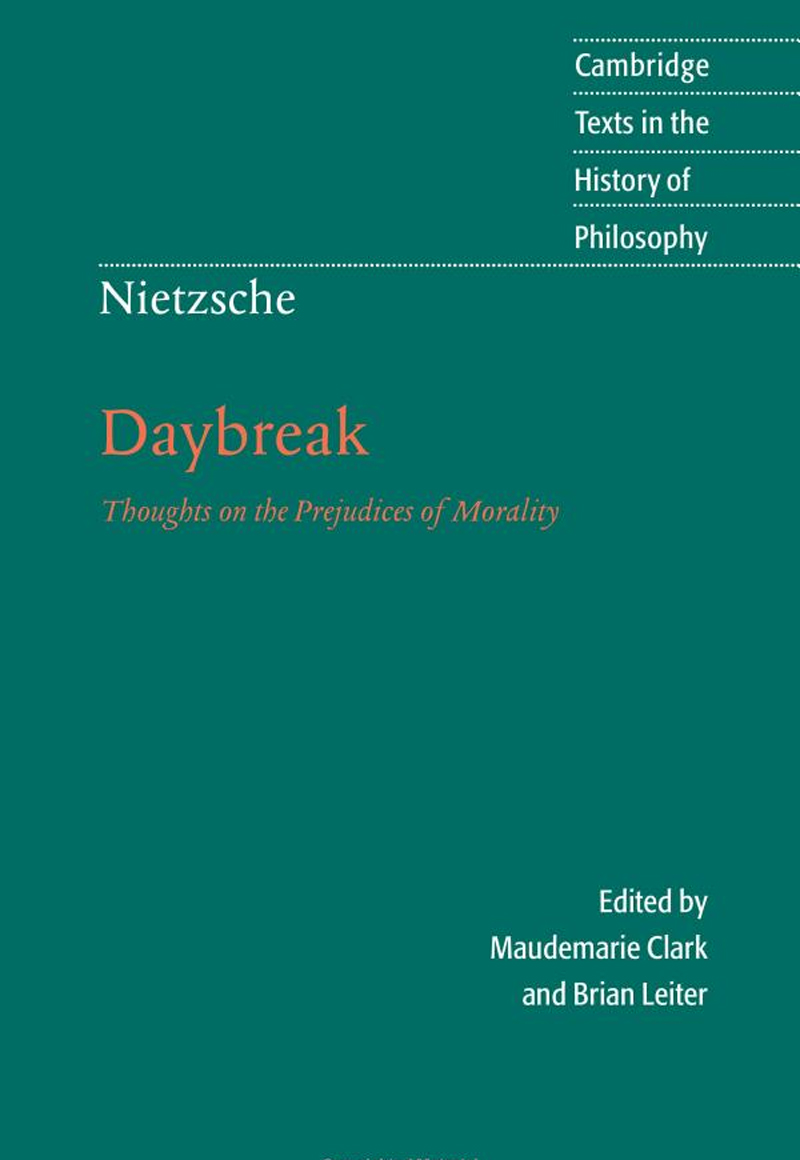 Brian Leiter, Daybreak: Thoughts on the Prejudices of Morality